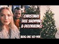 CHRISTMAS TREE SHOPPING DYEING MY HAIR VLOG DEC 1st 9th KendraCus mp3