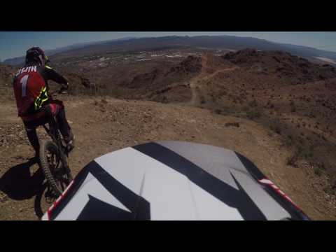Following Aaron Gwin At Bootleg Canyon March 2017
