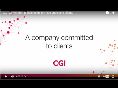 CGI: A company committed to clients - YouTube