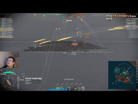World of Warships stream - Czas zarobić.