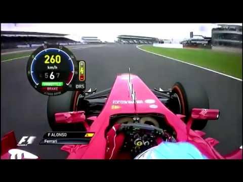 Fernando Alonso Onboard Lap Silverstone 2013