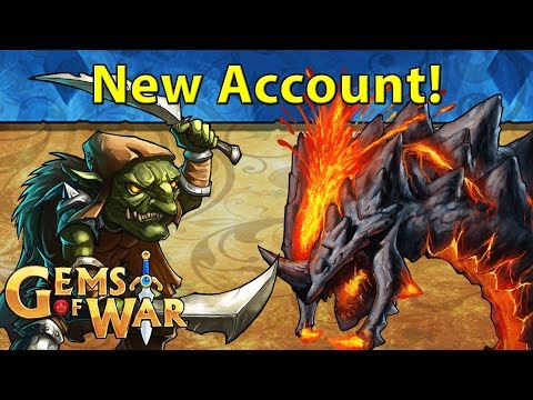 Gems of War F2P | S3:E1 | New Account! 6,000 Subscriber Special | New Player Informative Let's Play