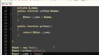 PHP Encapsulation Tutorial OOP | 12