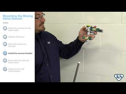 How To: Mounting The Mixing Valve