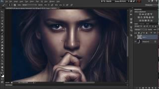 Как сделать арт обработку в Photoshop CS6