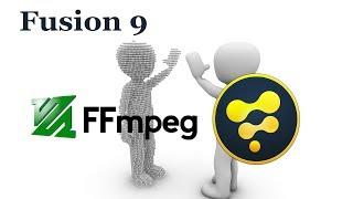 Blackmagic Fusion 9 FFmpeg Codec Support
