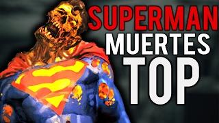 Top 10 Muertes Mas Brutales De SUPERMAN