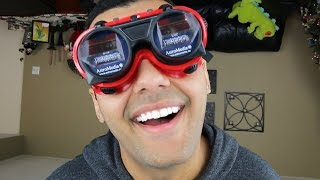 INSANE UPSIDE DOWN GLASSES OBSTACLE COURSE!! (CHALLENGE!!!)