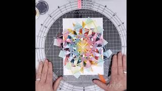 """Stencils 360 with 6"""" square stencil #shorts"""