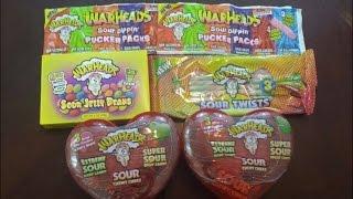 The Warheads Smoothie Challenge vs. Dude Where's My Challenge