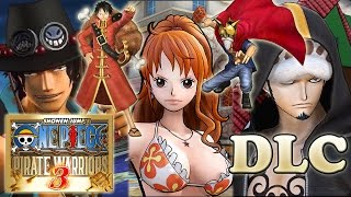 One Piece Pirate Warriors 3 DLC Costumes and Missions (Story Pack and More)