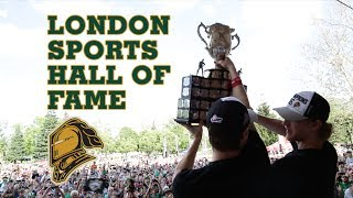 2015-2016 London Knights Inducted Into London Sports Hall of Fame