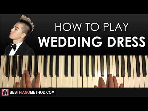HOW TO PLAY - Taeyang - Wedding Dress (Piano Tutorial Lesson)
