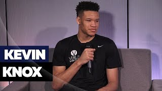Draft Prospect Kevin Knox On Knicks, Drake & Kevin Durant
