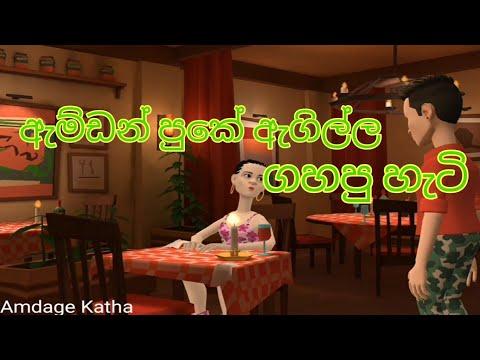 Download ඇම්ඩන් පුකේ ඇගිල්ල ගහපු හැටි   Animation Short Film   Amdage Katha