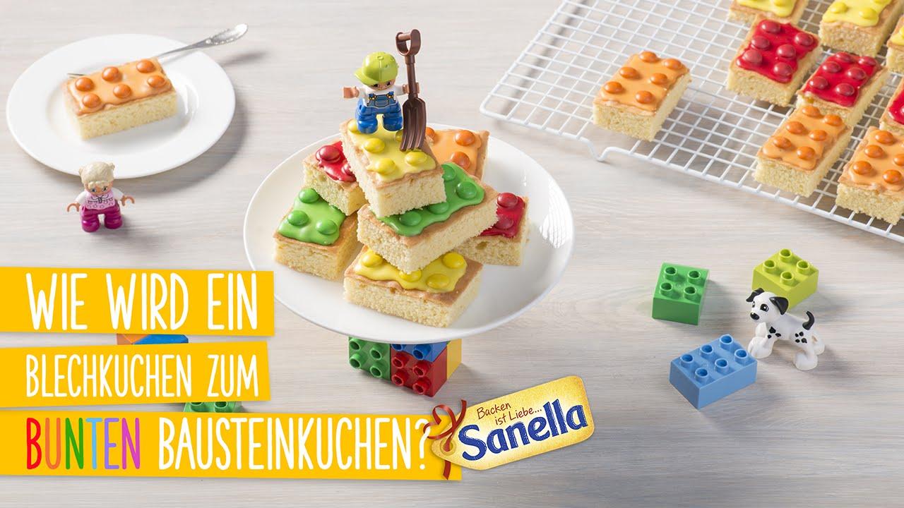 Bunter Bausteinkuchen Rezept Sanella