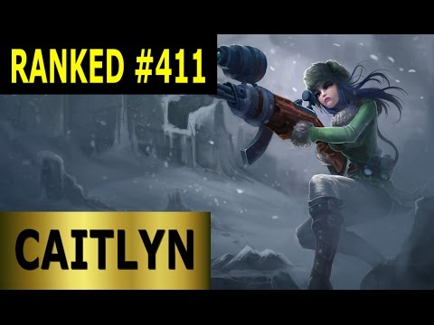 Caitlyn ADC - Full League of Legends Gameplay [German] Let's Play LoL - Ranked #411