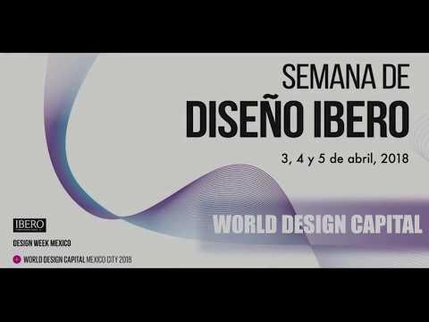 Reportando el Diseño presenta: Semana de Diseño Ibero, Conferencia WORLD DESIGN CAPITAL