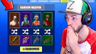The *RANDOM* SKIN CHALLENGE in Fortnite: Battle Royale! (CRAZY)