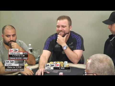 Gross Spot for 2 Pair vs Huge Combo Draw ♠ Bear Jew vs Leo ♠ Hand of the Night ♠ Live at the Bike!