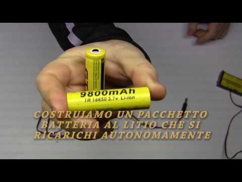 Schema Elettrico Per Carica Batterie Al Litio : Costruiamo un pacchetto batterie litio con autoricarica bilanciata