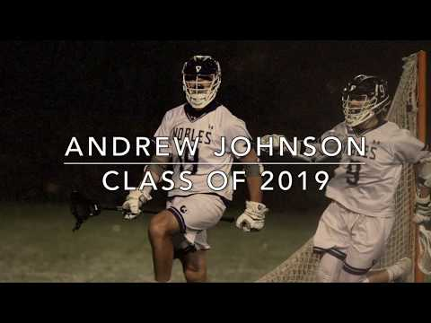Andrew Johnson '19  2018 Spring Lacrosse Highlights