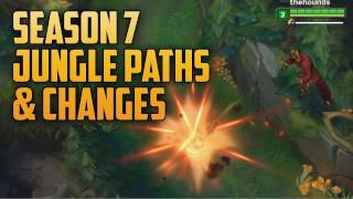 PRE SEASON 7 JUNGLE PATHS/CLEARS (Simple Season 7 Jungle Guide)