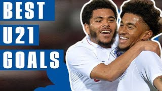 STUNNING Backheels, Screamers & Tekkers | Best U21 Goals 2018 | England