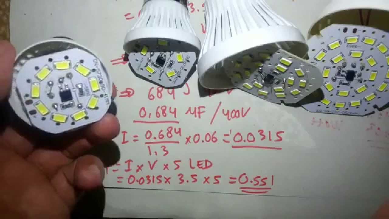 CHINA LED BULB Review - YouTube
