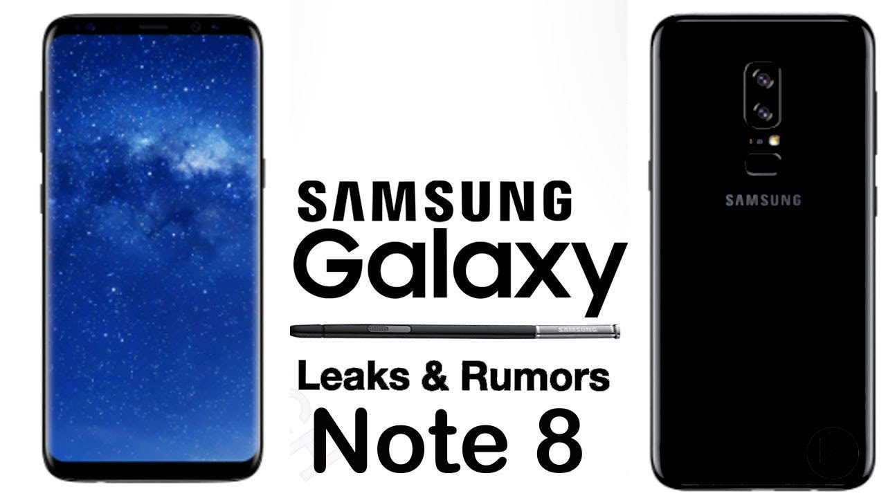 samsung galaxy note 8 real life look design event promo poster confirmed dates