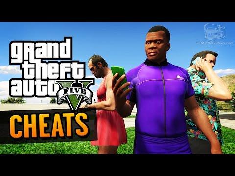 GTA 5 Cheats (PC, PS4, Xbox One, PS3 & Xbox 360)