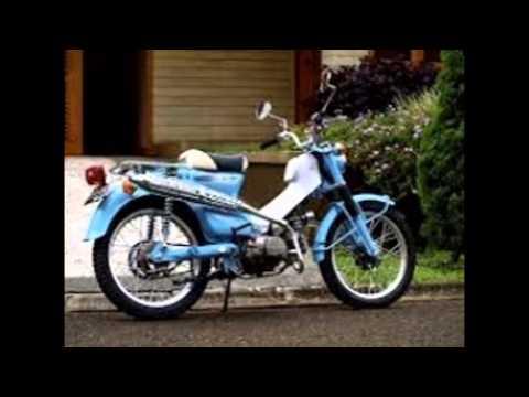 Modifikasi Motor jadul Honda Pitung   Honda C70 Klasik ...