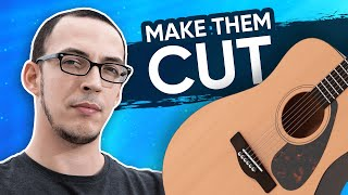 Getting Acoustic Guitars to Cut Through a Mix