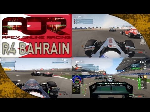 F1 2013 - AOR S8 PC Split 1 Highlights - Bahrain