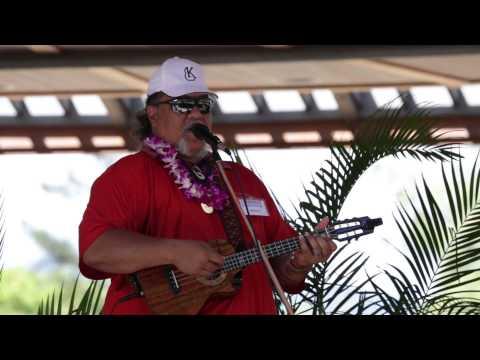 Ukulele Festival Hawaii 2015 -- Willie K