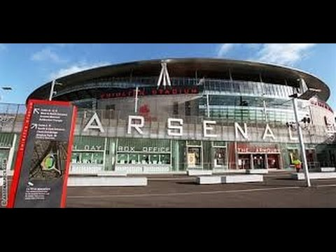 One day at the Emirates Stadium  in September 2016 . Arsenal football club London is red
