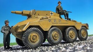 Sd.Kfz 234 Forces of Valor 1:32 (Vol.6) 21st century toys - The Ultimate Soldier 32x