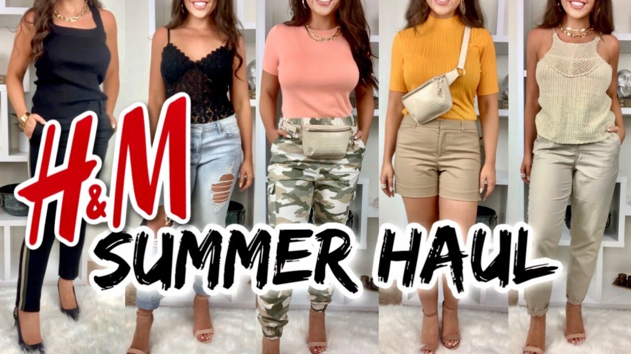 H&M HAUL  | *New* In H&M Try On Haul Summer 2020 | Affordable Fashion | SUMMER  2020 TRENDS #HM