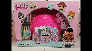 LOL Surprise Dolls Ultimate Stylin Studio Review