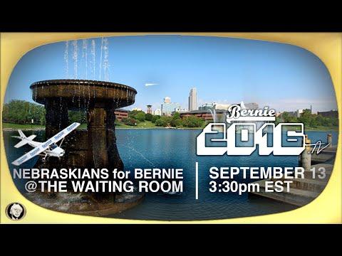 Nebraskans for Bernie Meetup at the Waiting Room in Omaha