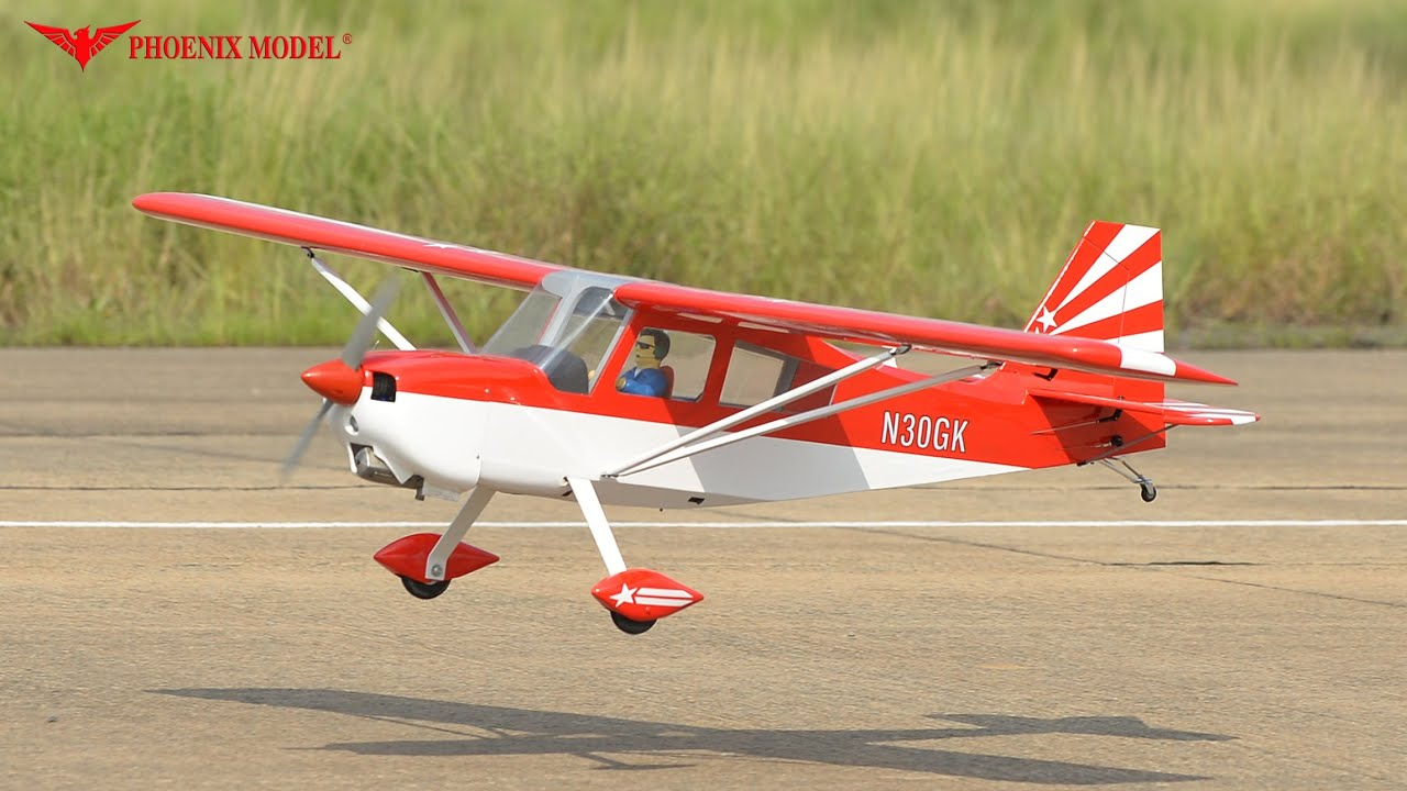 Phoenix Model Decathlon RC Plane, 20cc ARF, PHDECATHLON-20CC