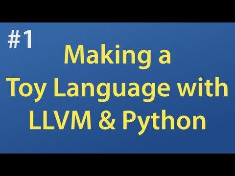 Creating a toy language with the Python, LLVM and the IPython web notebook, part 1