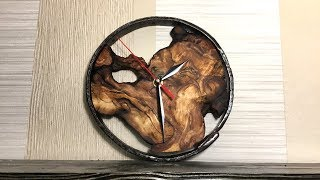 Часы из сувеля своими руками. Loft style clock