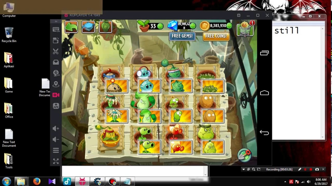 Plants vs Zombies 2 - How to cheat using Cheat Engine