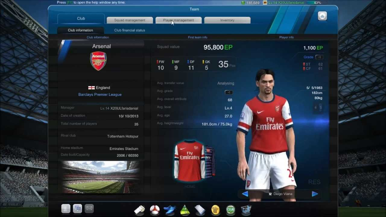 FIFA Online 3 Key Features