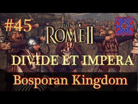 Crossing The Water :: Total War Rome II - Divide Et Impera  1.2.2 - Bosporan Kingdom Gameplay #45