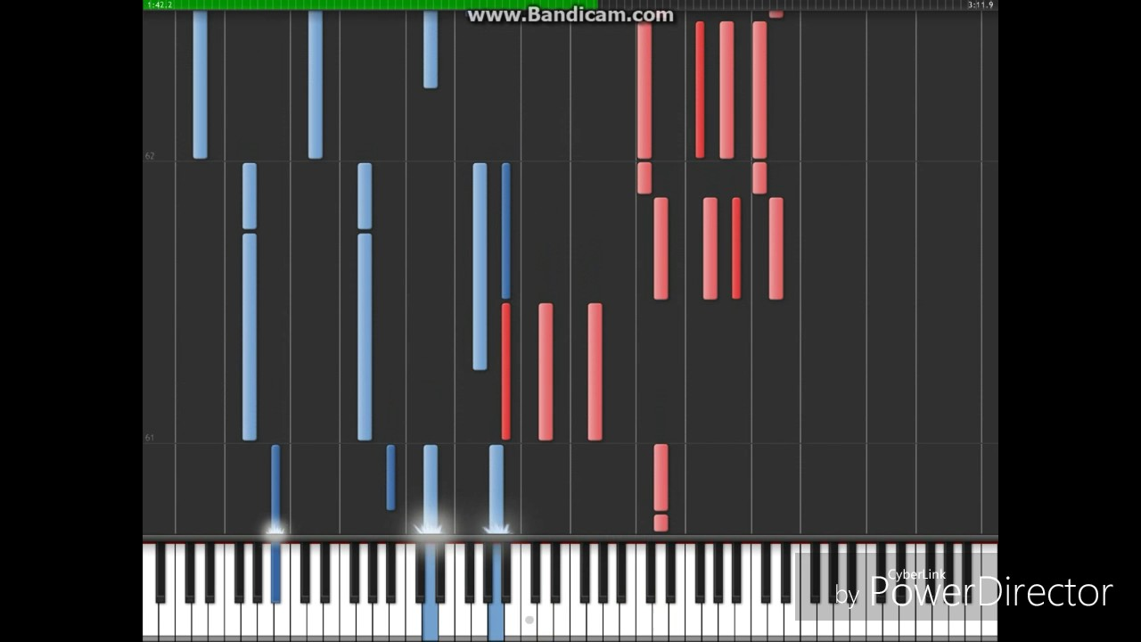 The Neighbourhood - Wires (Piano Masterclass) [Synthesia] - YouTube