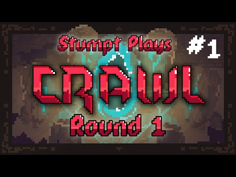 Stumpt Plays - Crawl - [Round 1] - #1 - Naive Adventurers (Steam Early Access Build)