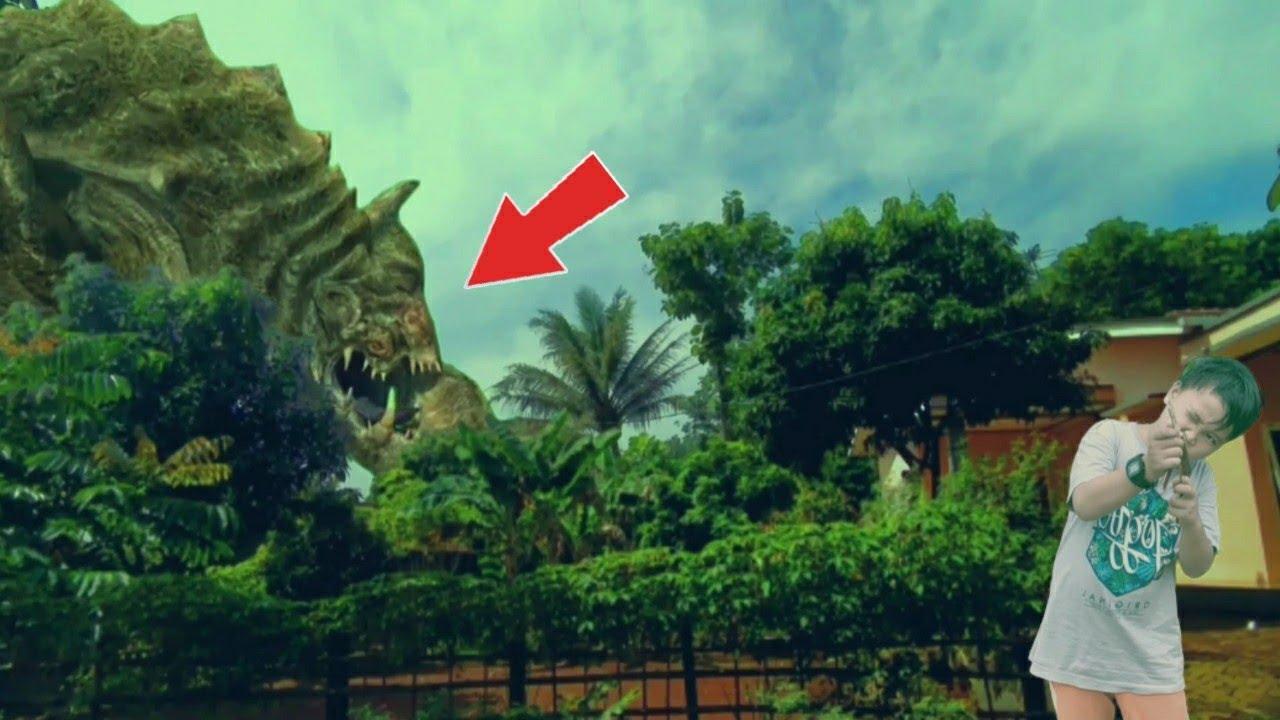 Bocah Nantang Monster Apa Yang Terjadi?!?!