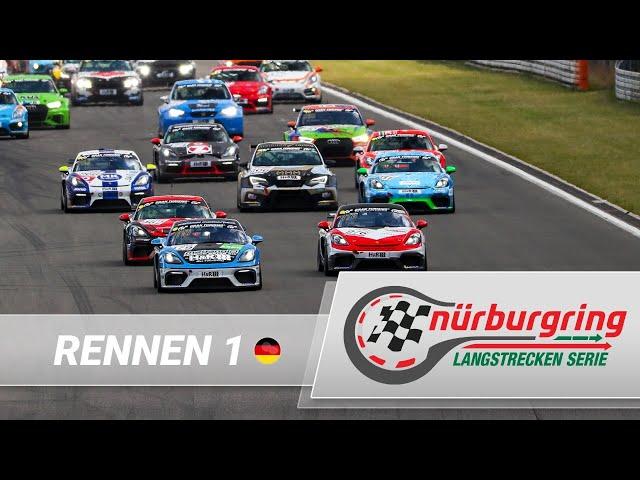 LIVE: Rennen 1 Nürburgring Langstrecken-Serie 2021 (NLS)